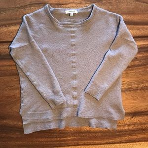 Madewell Mauve Pull-Over Sweater